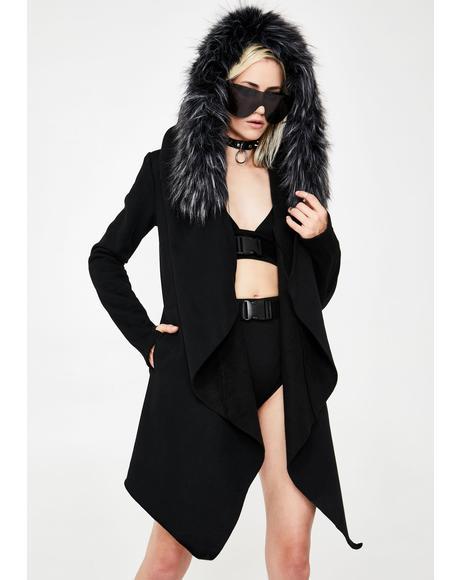 Blurry Nightfall Suede Jacket