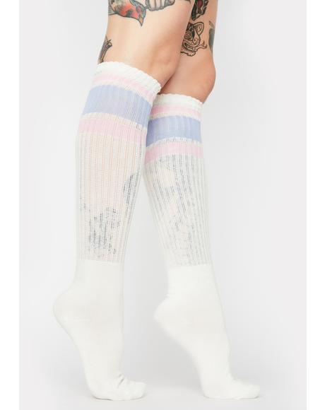 Rugby Knee High Socks