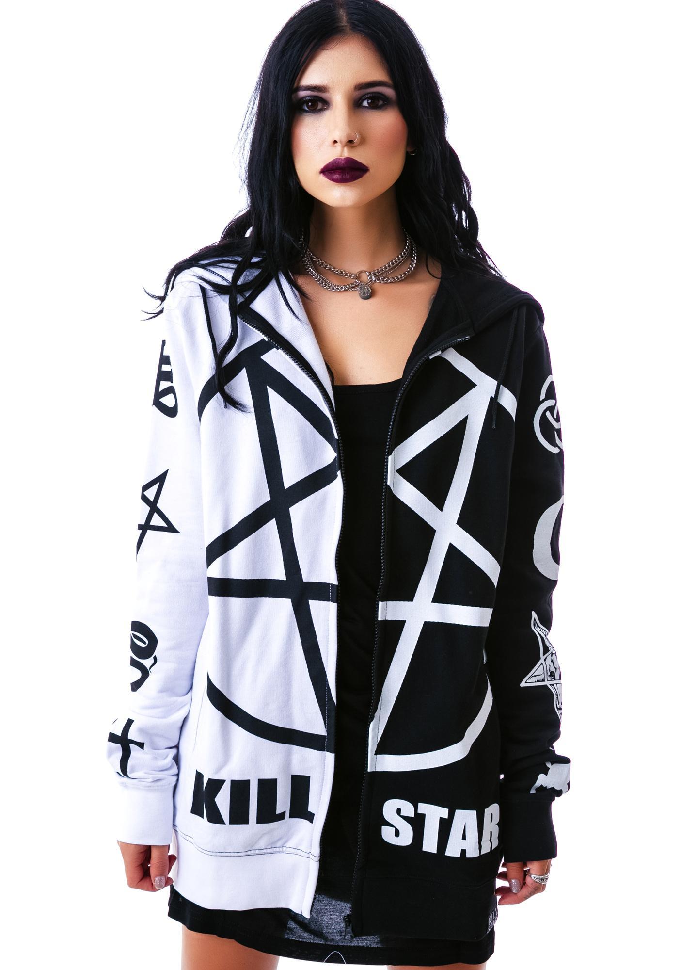 Killstar Split Personality Hoodie