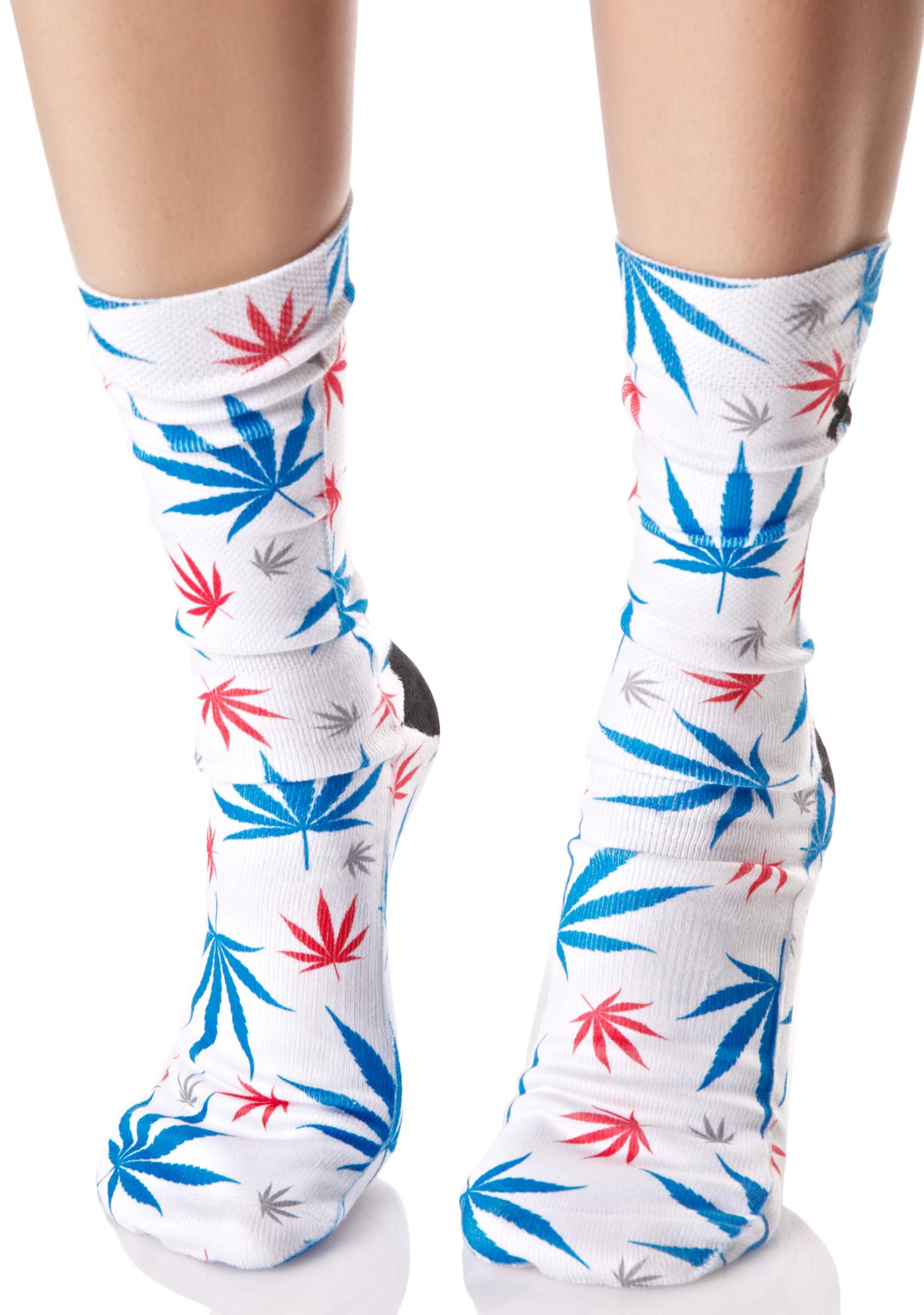 Odd Sox American Pot Socks