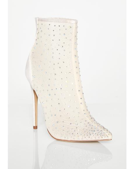 Road To My Riches Crystal Booties