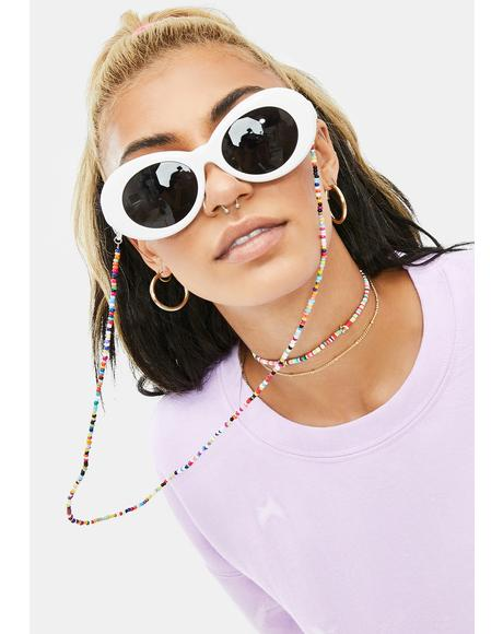 Sweet Looks Beaded Sunglasses Chain