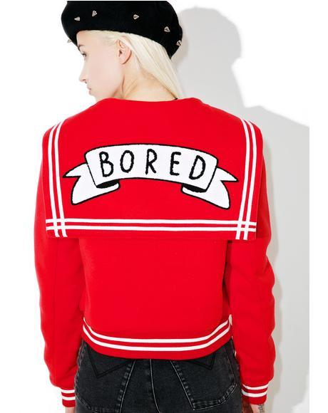 Bored Varsity Jacket