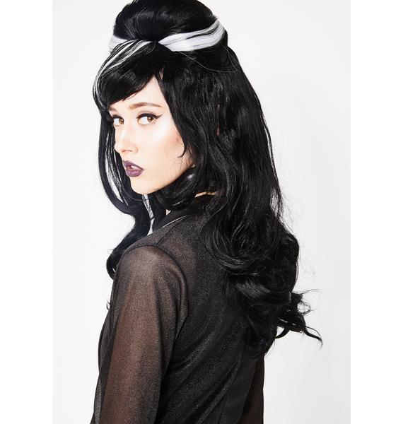 Frankie's Wifey Bouffant Wig