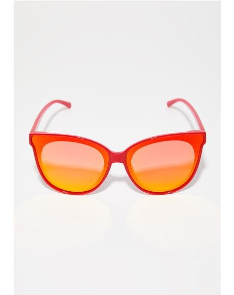 Sunrise Glammed Sunglasses