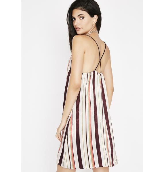 With The Curve Slip Dress