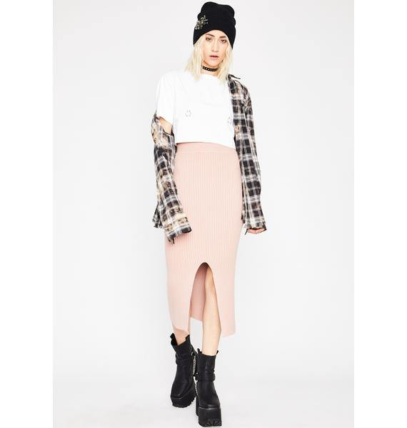 Sugar In Luv With Me Midi Skirt