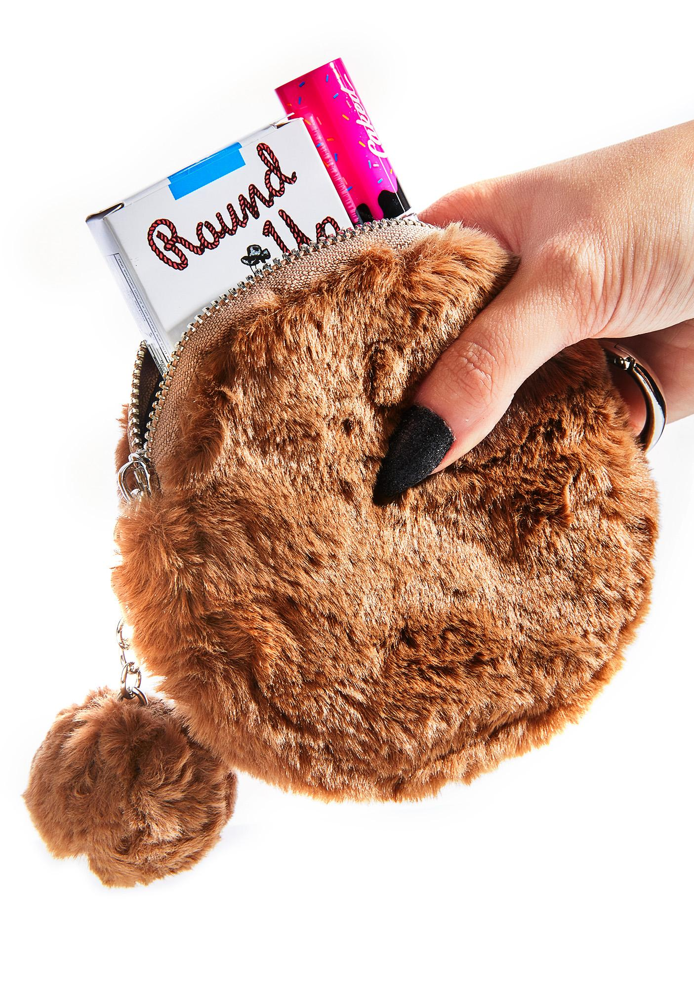 Totally Faux Fur Pouch