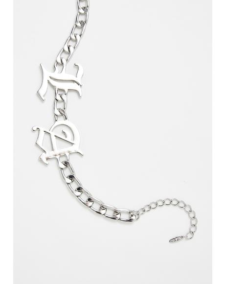 West Coast Wodie Chain Choker