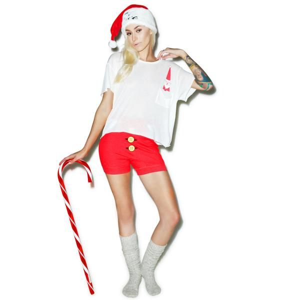 Wildfox Couture Mini Jingle Countryside Pocket Tee