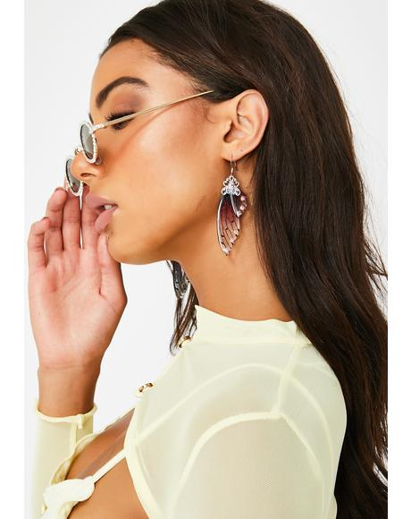 Spirit Social Drop Earrings