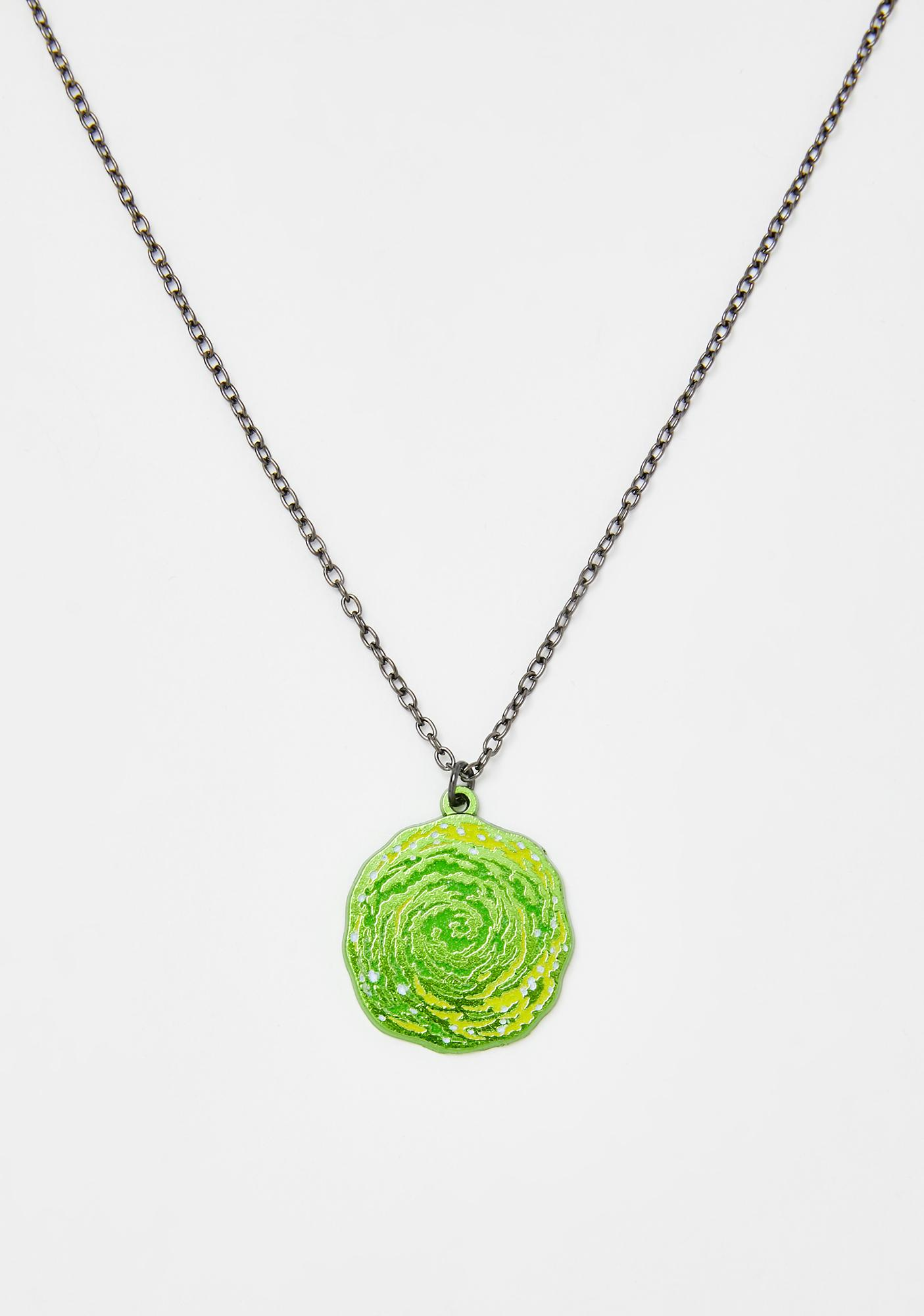 Portal Dive Glow In The Dark Necklace
