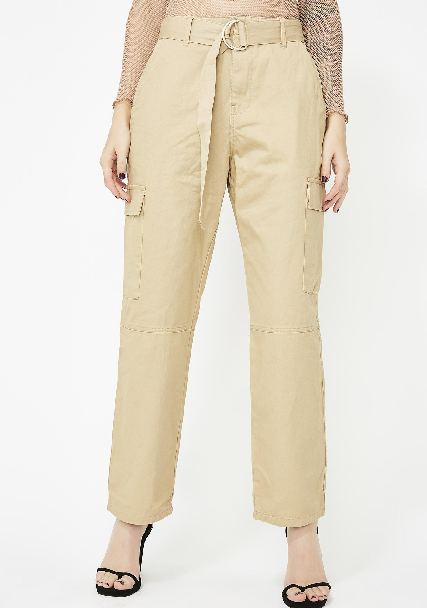 Question Everything Cargo Pants