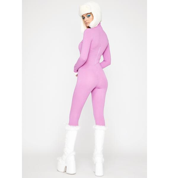 Taro Can't Fight It Ribbed Catsuit
