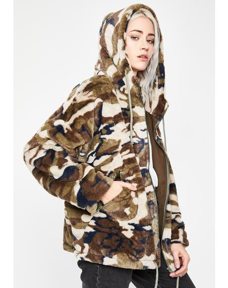Commander Of Clout Camo Jacket