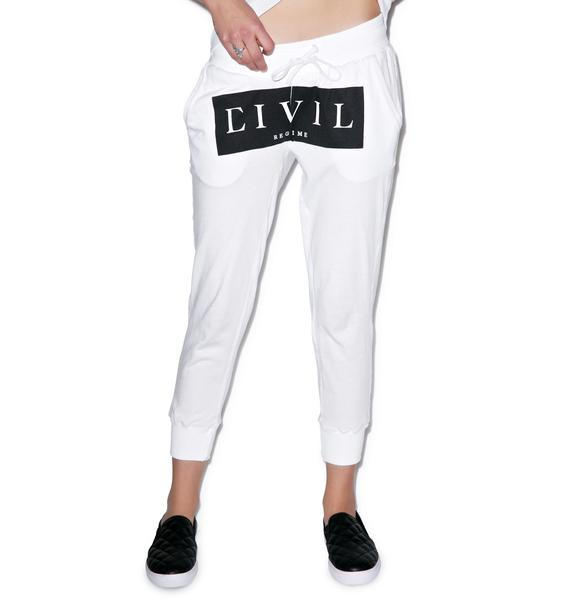 Civil Clothing Civil Block Capri Runners