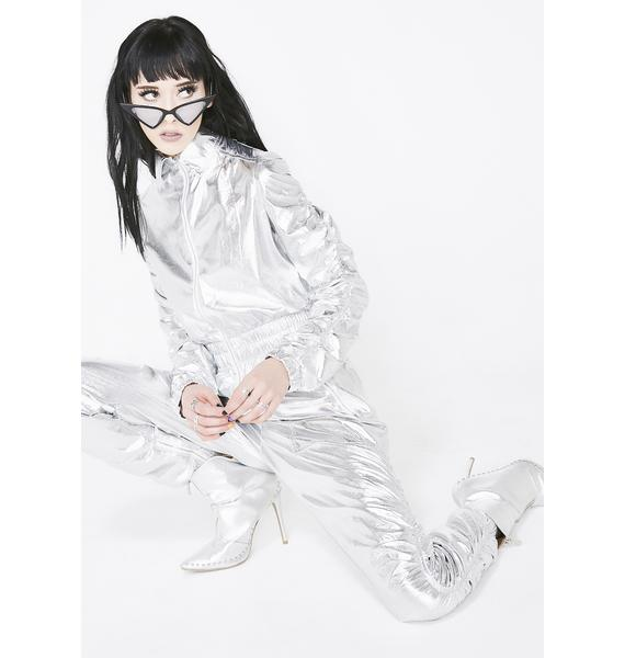 High Gravity Metallic Jumpsuit