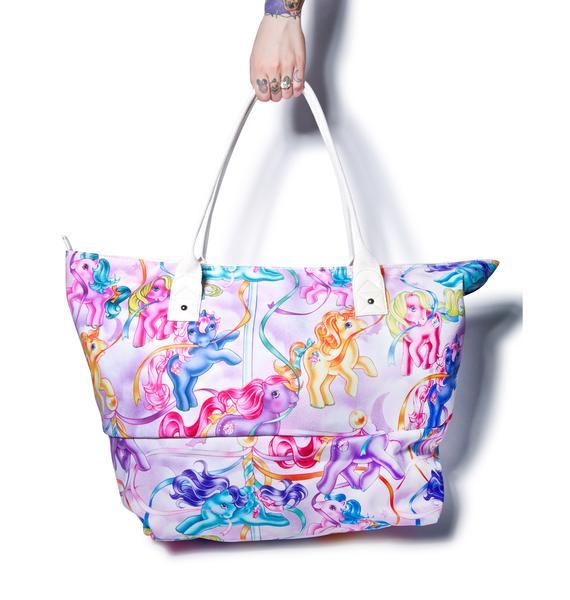 Iron Fist My Little Pony Beach Bag