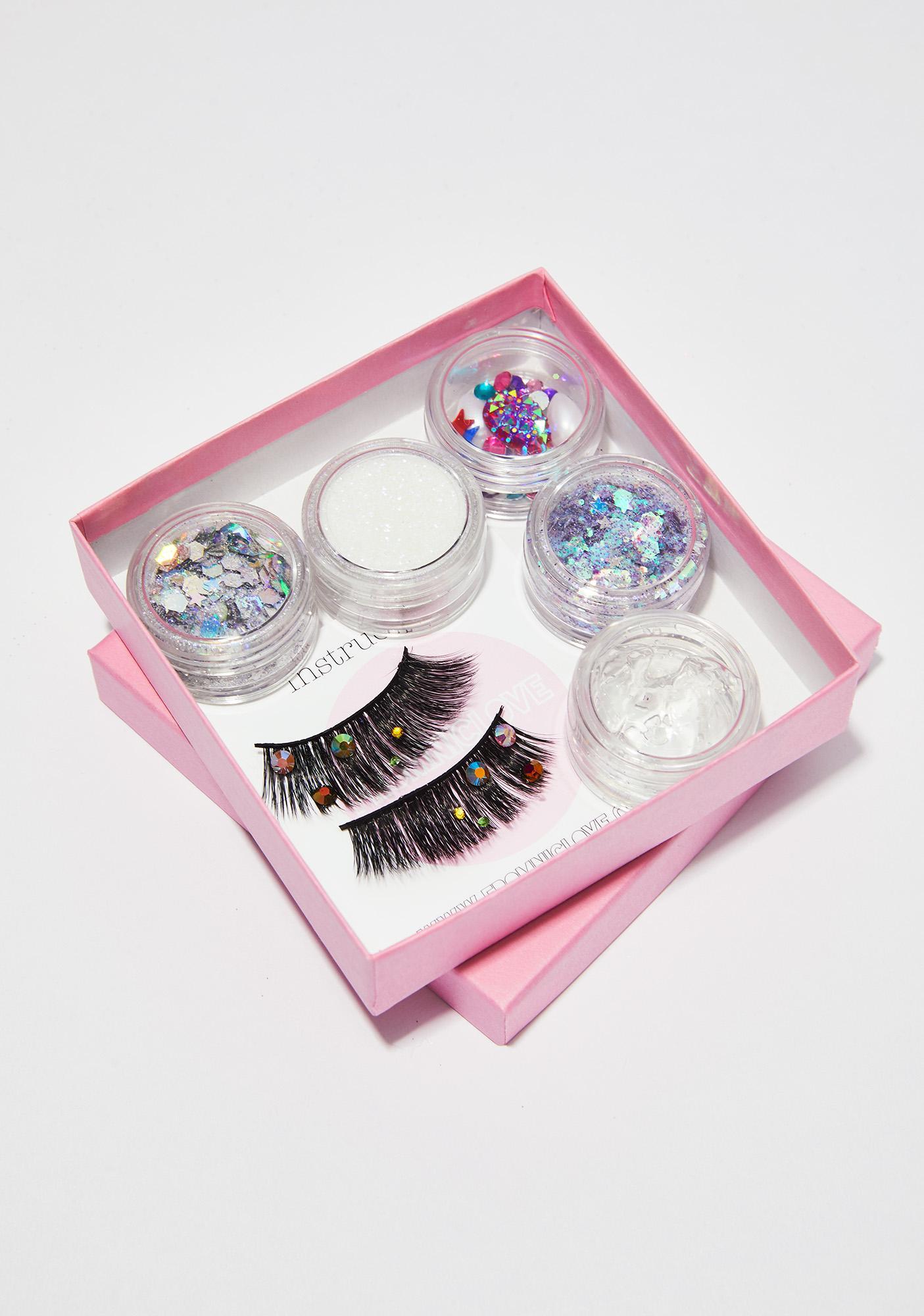 FromNicLove Gemstone Eyelash And Glitter Pack