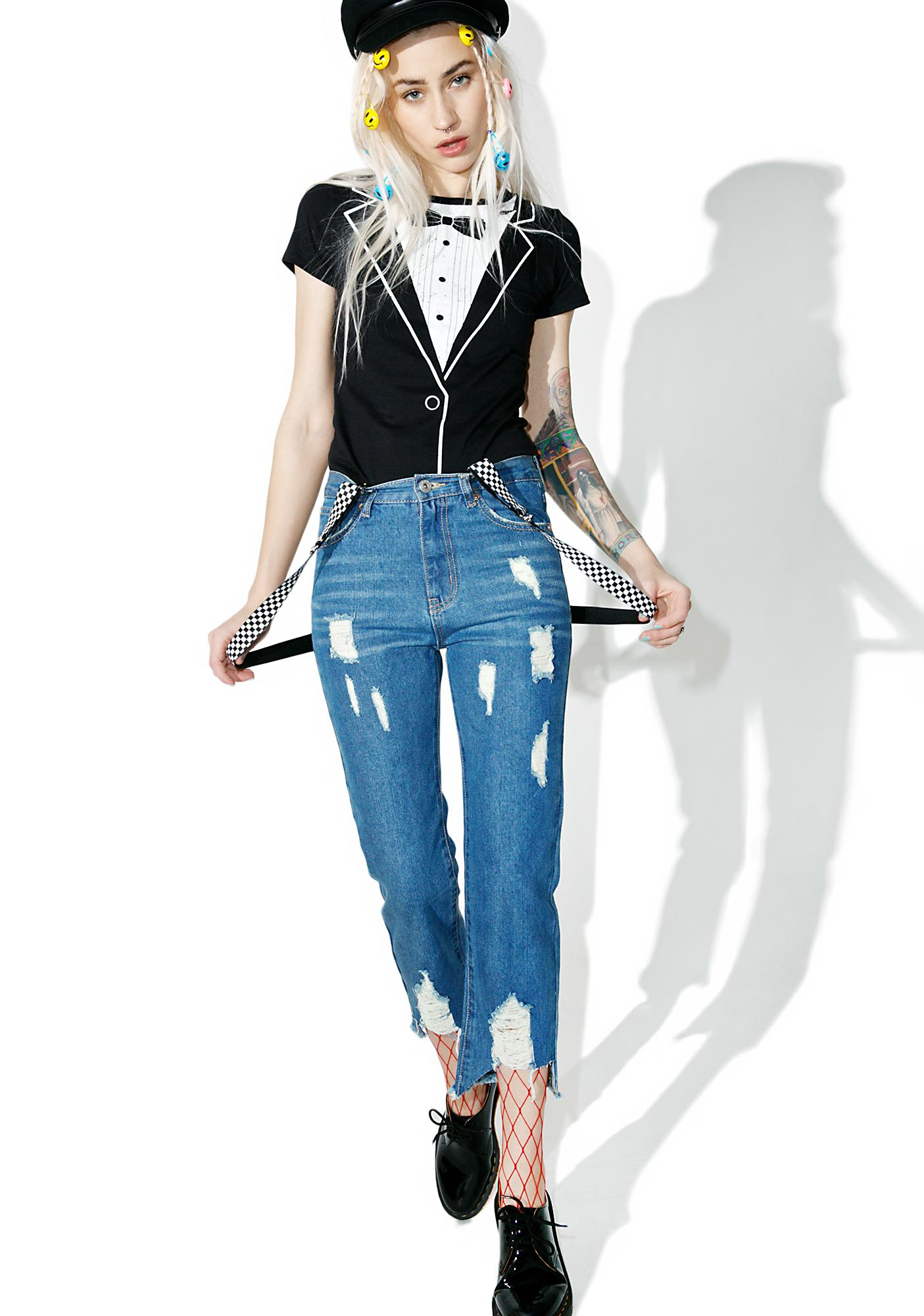Castaway Distressed Jeans