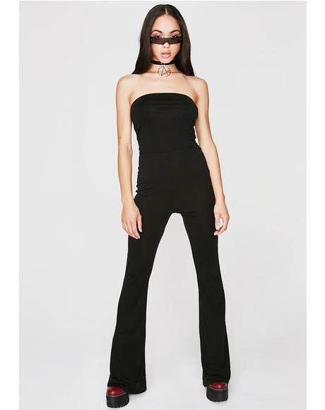 Big Deal Strapless Jumpsuit