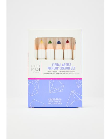 Visionary Rainbow Makeup Crayon Set