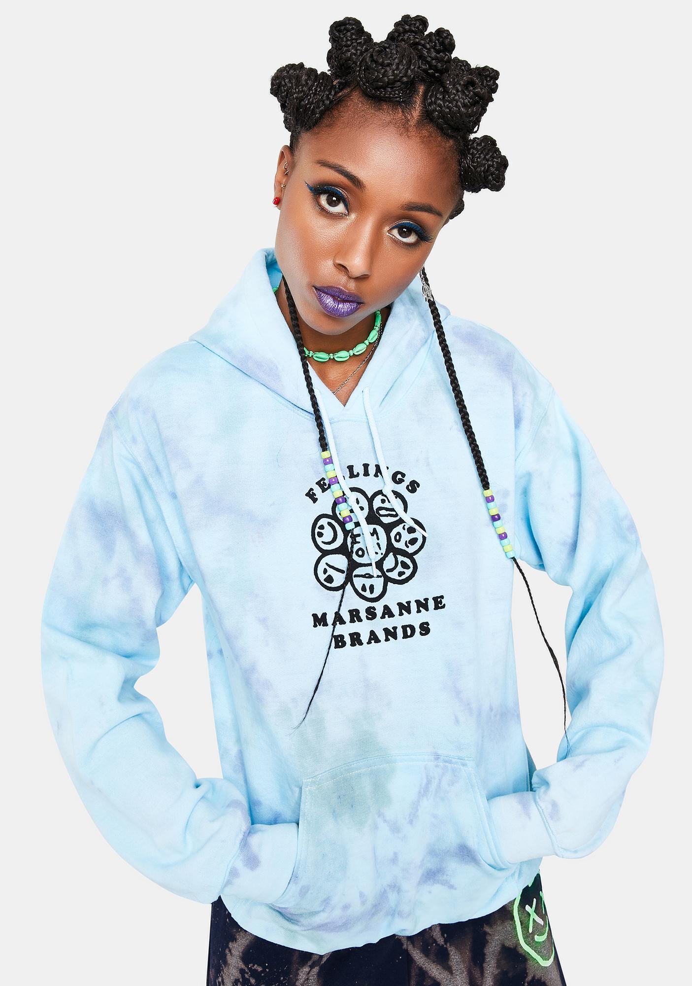 Marsanne Brands Feelings Graphic Hoodie