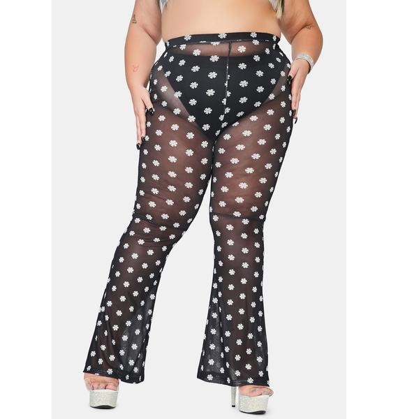 Total Blossom Babe Flare Pants