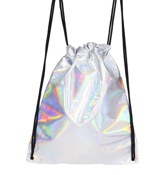 Cosmic Adventure Drawstring Backpack