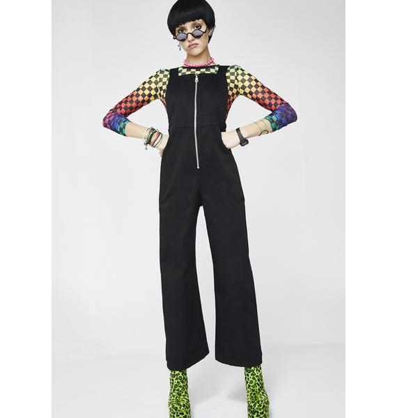 The Ragged Priest Blackout Dungarees