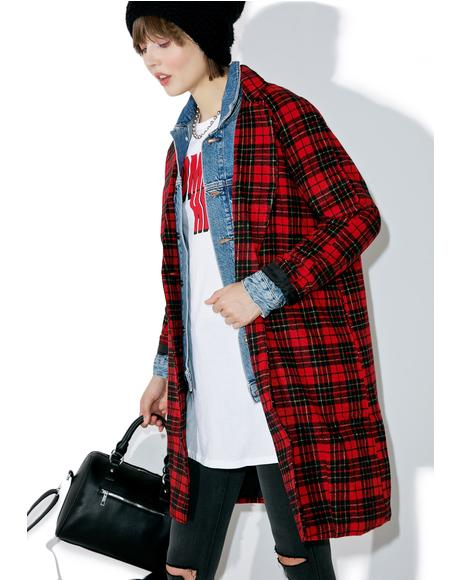 Ernest Plaid Coat
