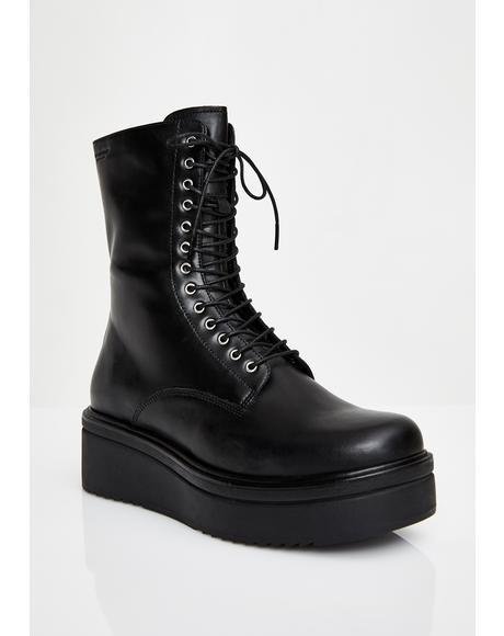 Tara Lace Up Boots