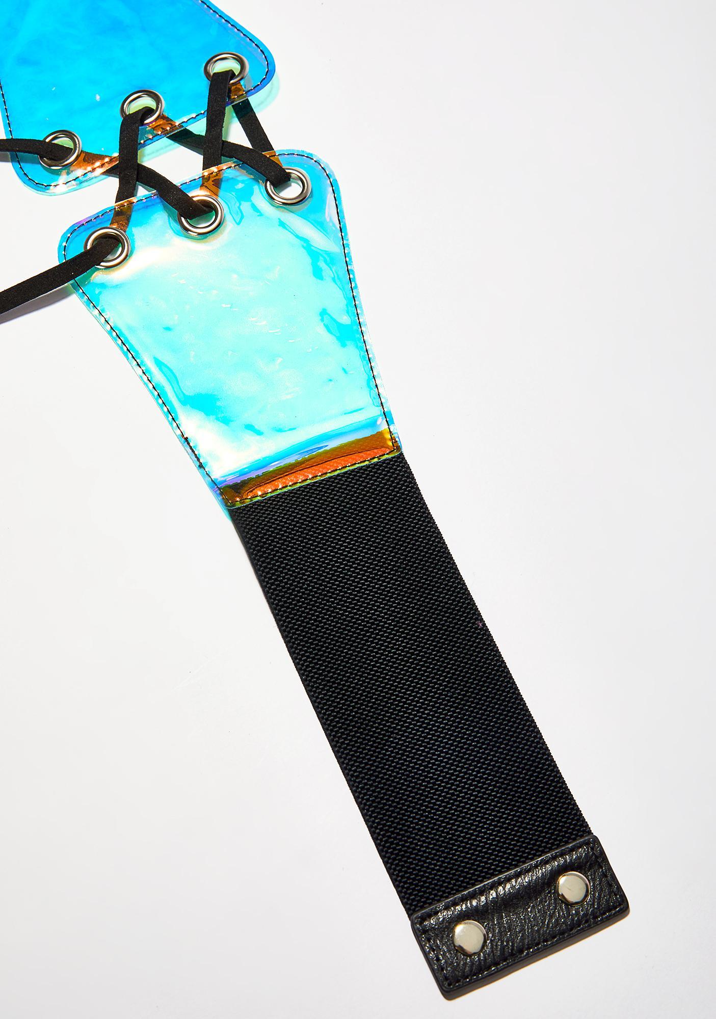 Equinox Lace-Up Waist Belt