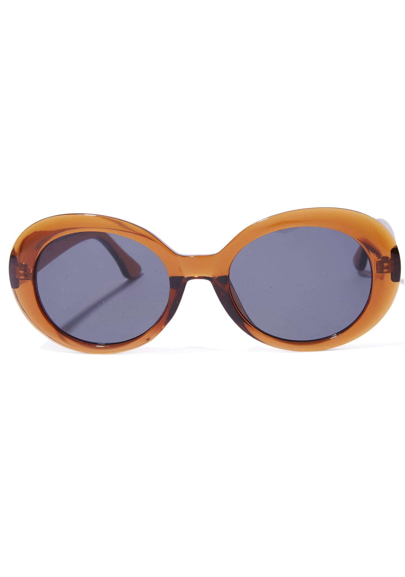 Orange Kurt Cobain Sunglasses