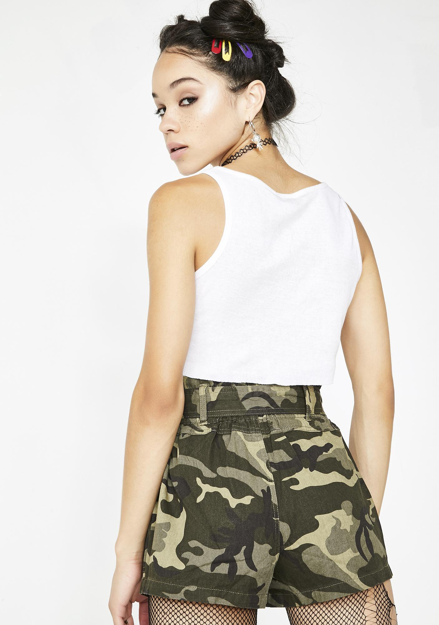 Deadly Trooper Camo Shorts