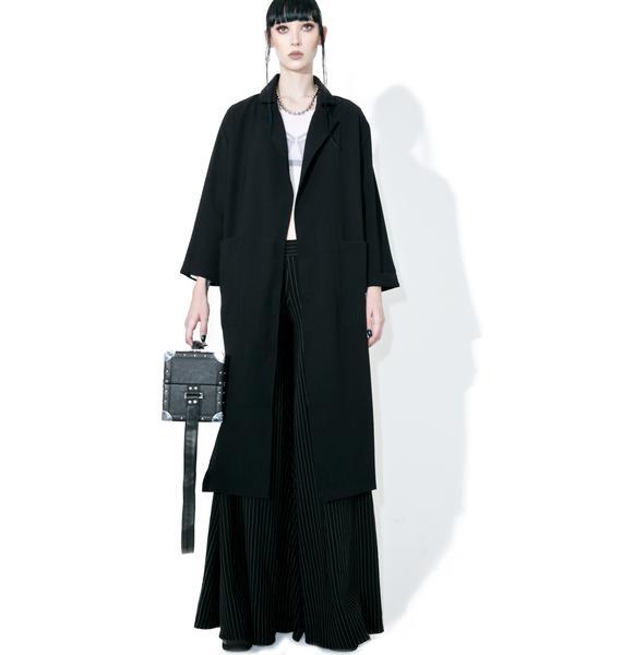 Glamorous Rei Draped Trench Coat