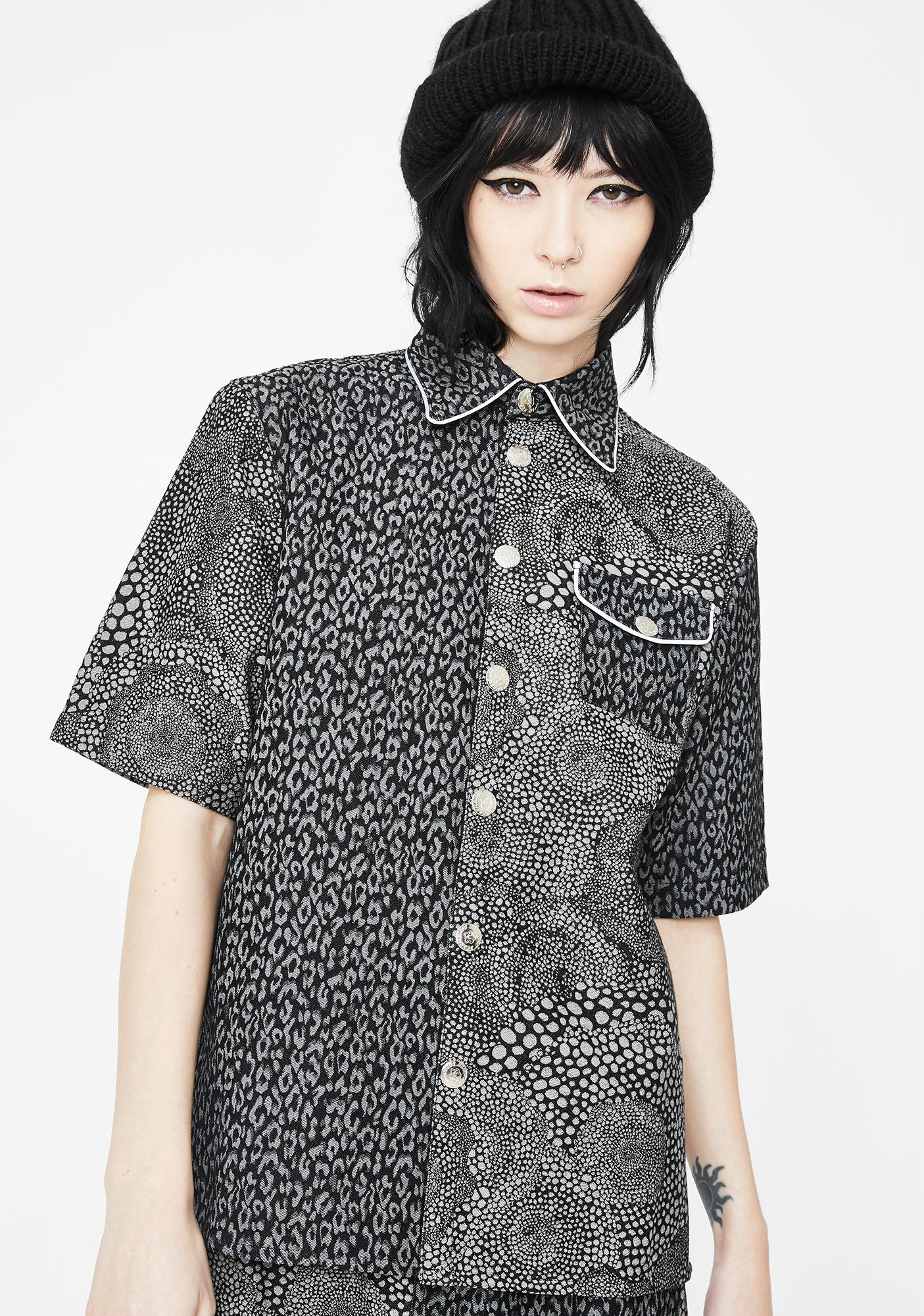 Somewhere Nowhere Duo Button Up Shirt