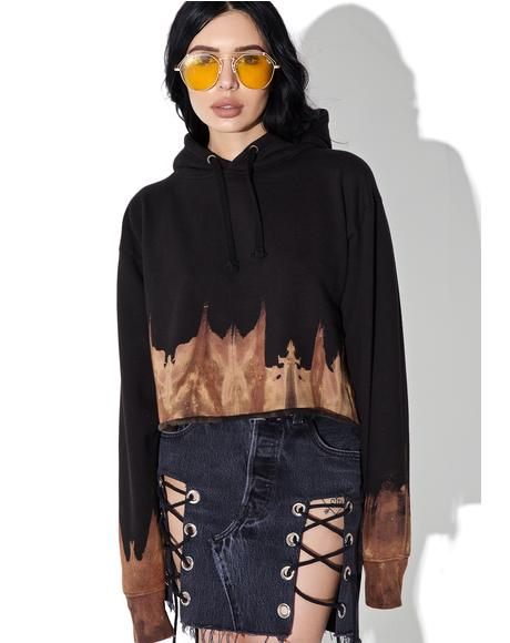 Reworked Cropped Sweatshirt