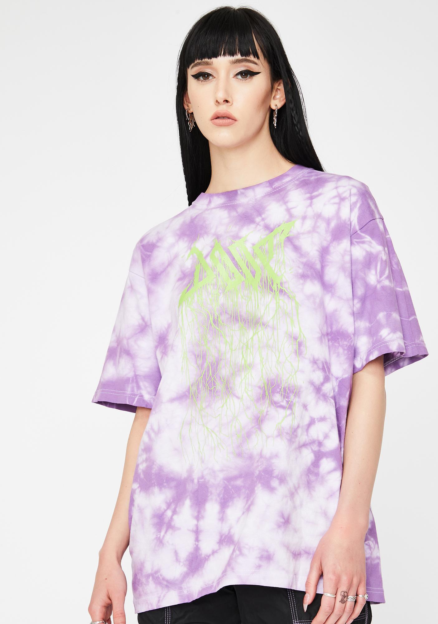 DOOM 3K Violet Logo Graphic Tee