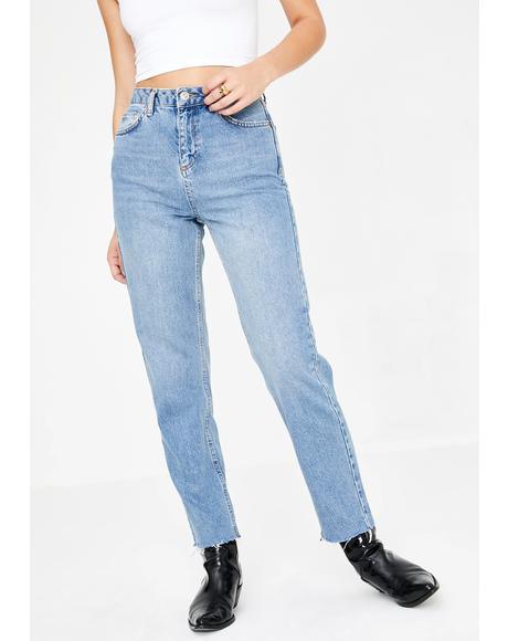 Pax High Rise Vintage Wash Jeans