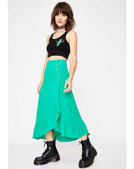 Give Me One Reason Midi Skirt
