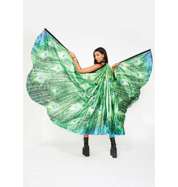 Peacock Of The Walk Cape