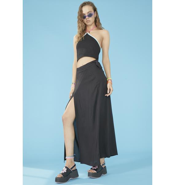 dELiA*s by Dolls Kill Beachy Keen Wrap Skirt