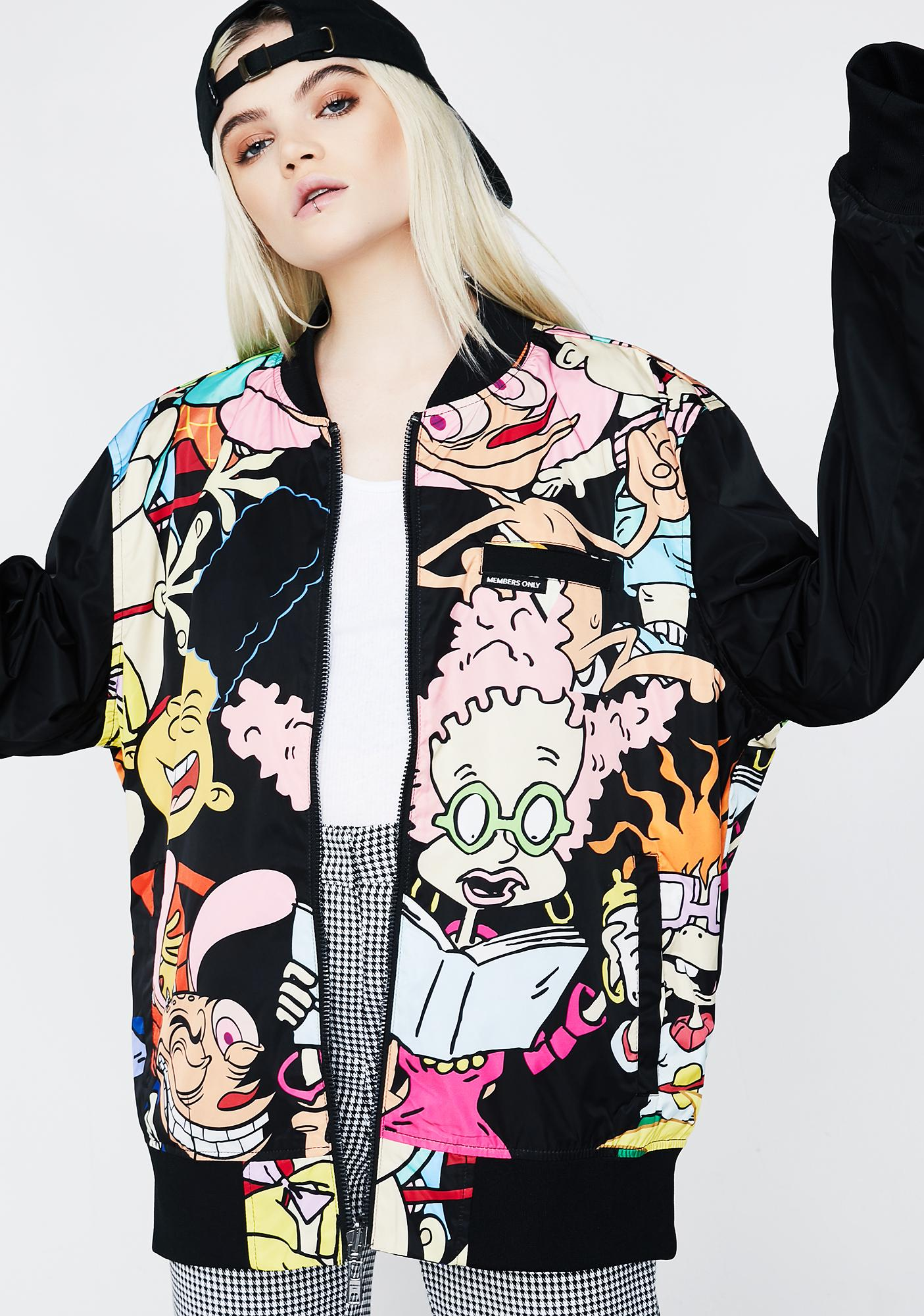Members Only x Nickelodeon Reversible Bomber