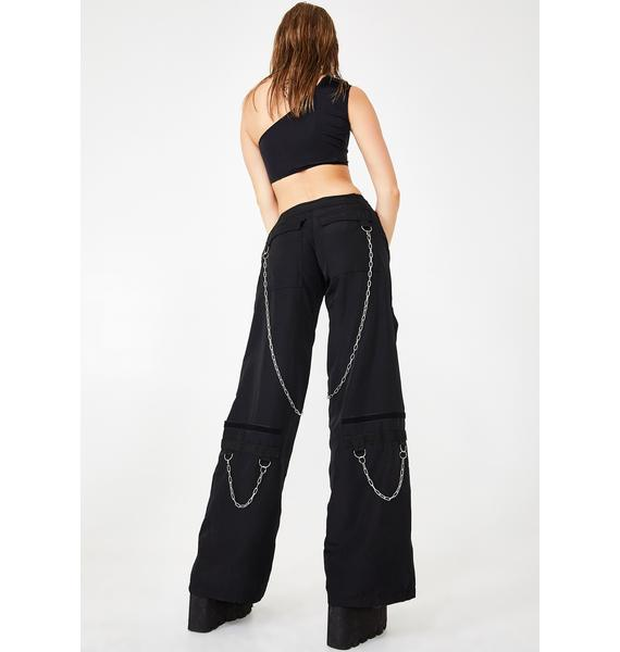 Namilia Black Breakaway Cargo Pants