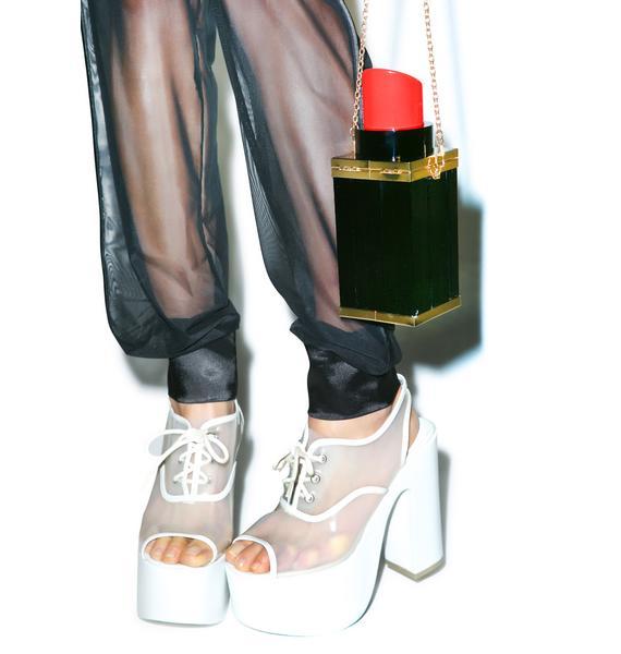 Nila Anthony Tube Of Lipstick Bag