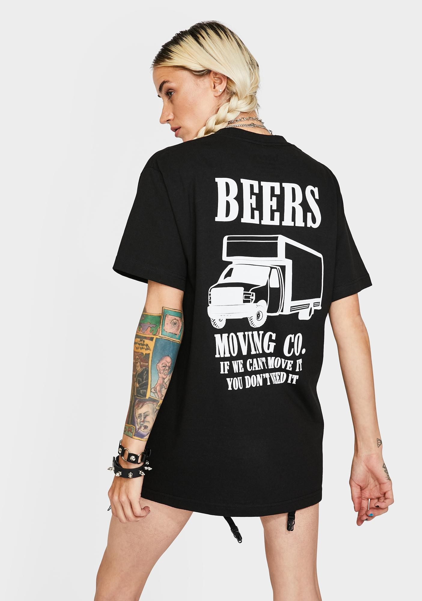 Beers Moving Company Graphic Tee