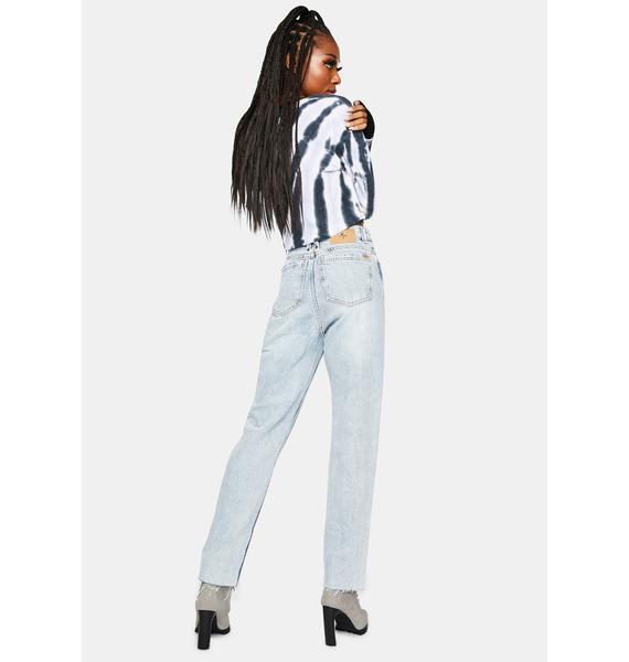 THRILLS Time Worn Blue Paige Denim Jeans