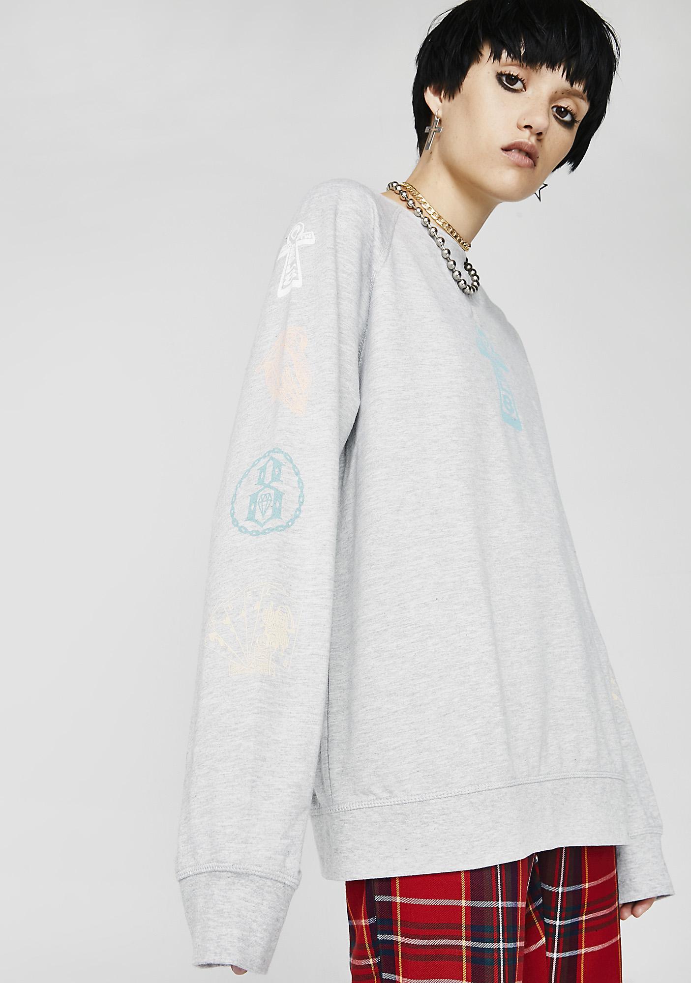 Rebel8 Faults Crewneck Sweatshirt
