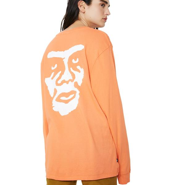 Obey The Creeper Long Sleeve Tee
